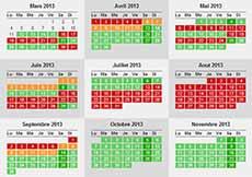 mini-calendrier